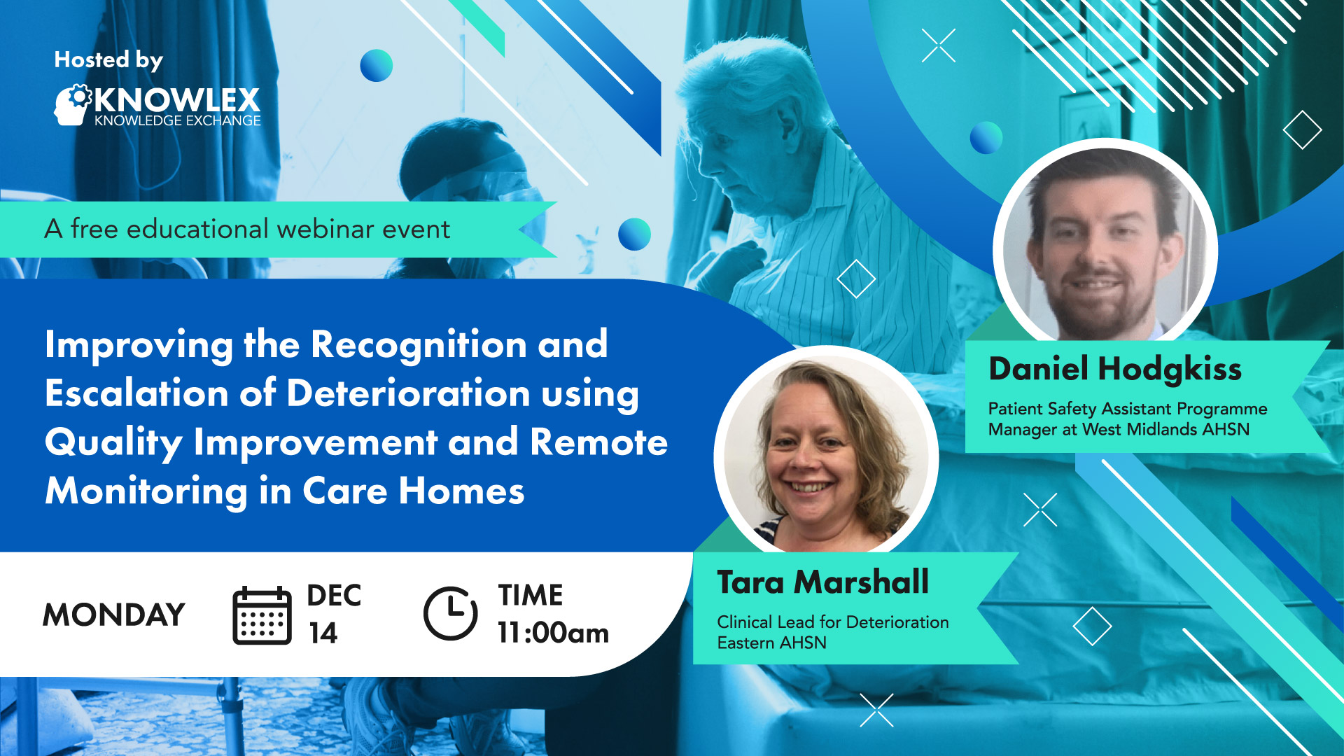 Knowlex Webinar - Improving the recognition and escalation of deterioration using Quality Improvement and remote monitoring in care homes