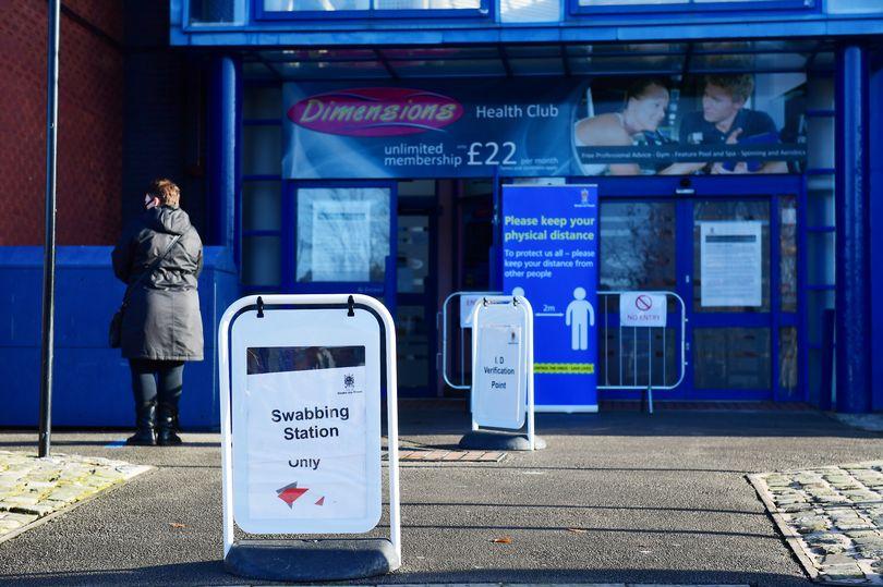 Stoke swabbing station