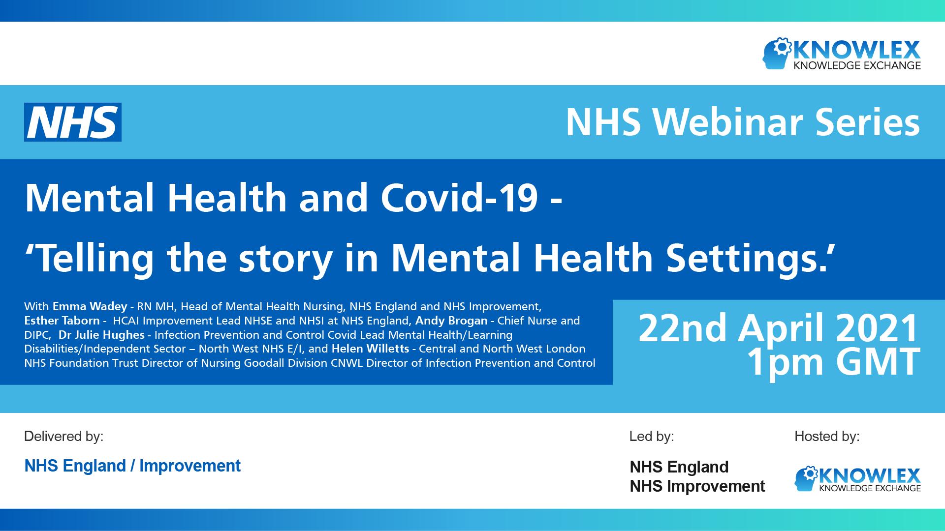 Knowlex Webinar - Mental and Health & Covid-19